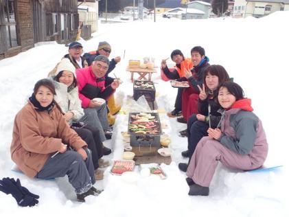 大人の楽校・冬編『スノーシューと雪上BBQ』を実施しました!