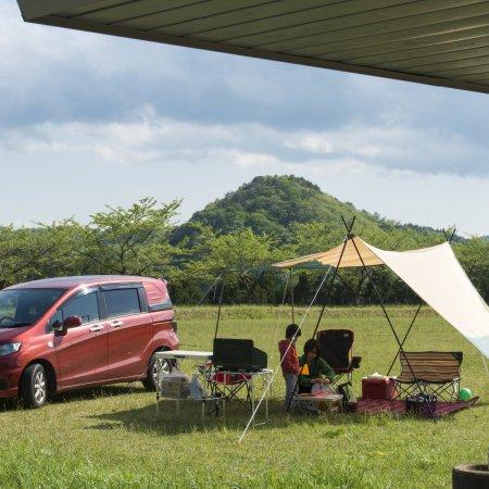 キャンプ場フリーサイト